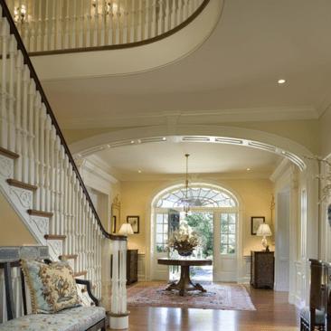 Luxury foyer design interior