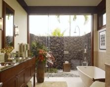 Shower outdoor design