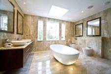 Minimalist modern bathroom design that looks luxury, charming, and beautiful-5