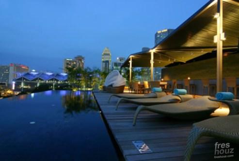 Modern Rooftop Landscape Design Naumi Hotel Architecture Design Home Design