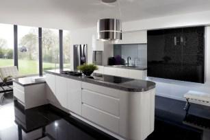 18 Black And White Kitchen Designs #41 | Baytownkitchen With Regard To Black, White And Red Kitchen Design