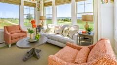 Clean Pretty Living Room Design