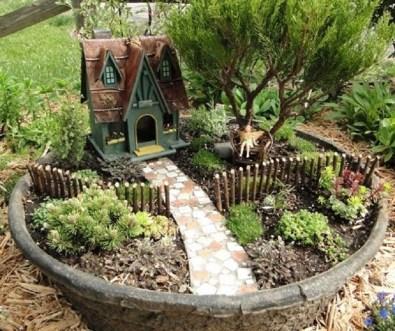 Cool Fairy Garden