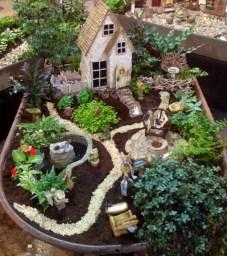 Cute Small Fairy Garden