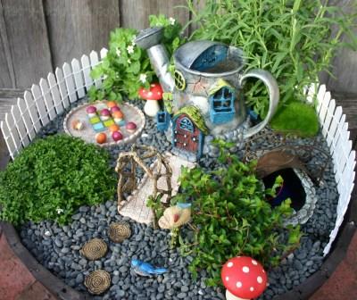 Goblin Grunge Fairy Garden