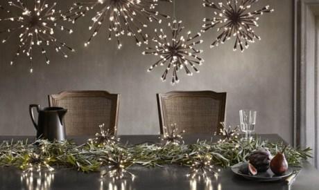 Minimal Table Holiday Decor