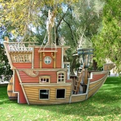 Pirate Ship Playground Ideas