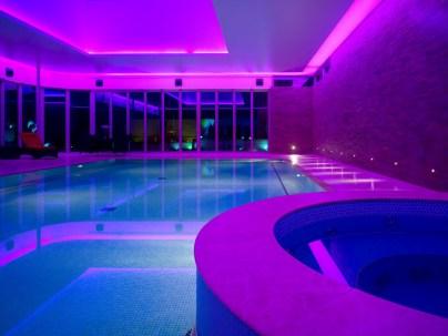 Purple Swimming Pool Light