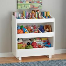 Simple White Toy Storage