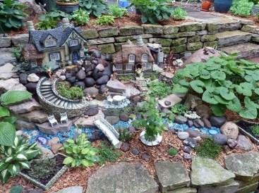 Stone Fairy Garden