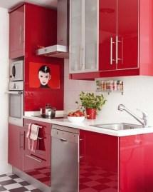 Awesome Red Kitchen Design Ideas #2378 | Baytownkitchen Pertaining To Black, White And Red Kitchen Design