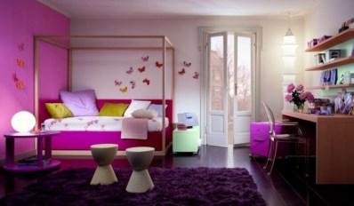 Greatinteriordesig: Girly Bedroom Decoration Throughout Stunning Girly Interior By Shijo Sebastian