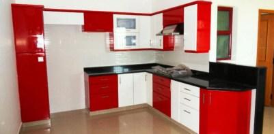 Black White And Red Kitchen Design Freshouz Com