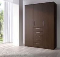 Wooden Closet, Modern Cool And Modern Wardrobe Inside Stuart: Cool And Modern Wardrobe With Refined Door Design