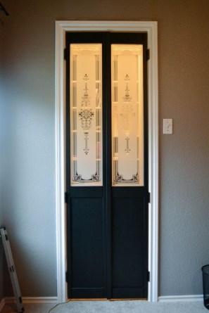 1000+ Ideas About Diy Folding Doors On Pinterest | Bifold Exterior Regarding Closet Door With Folding Hooks