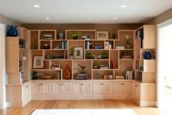 Contemporary Library Shelve Design