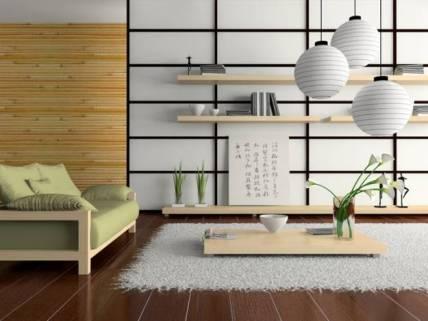 Japanese Style Shelving
