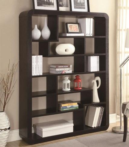 Modern Wenge Bookcase