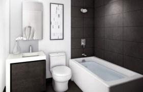 Appealing Small Space Bathroom Design Ideas With White Bathtub Throughout Design Wastafel Ideas
