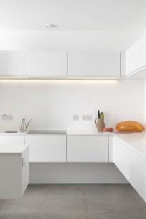 Minimal Super Stylish White Kitchen Modern Homes For Minimal Super Stylish White Kitchen