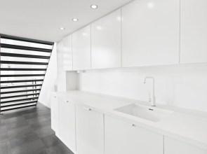 Minimalist Interior Kitchen Design Ideas Throughout Minimal White Kitchen