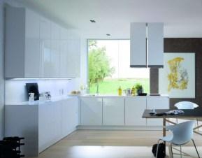 Minimalist Perfect Kitchen Furniture Ideas Within Minimal Super Stylish White Kitchen