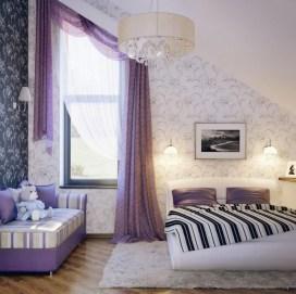 Purple In Interior Design Regarding Violet Interior Design