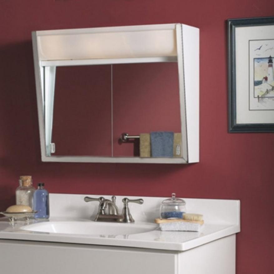 Sliding Door Bathroom Cabinet Wall Mounted Bathroom Intended For Bathroom  Cabinet With Sliding Doors