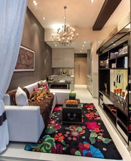 Small Space Apartment Interior Designs Throughout Example Interior Design For Small Apartments