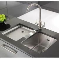 Unique Kitchen Undermount Sinks With Regard To Brilliant Drain Shows Your Water Consumption