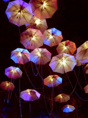 Unique Umbrella Lamp Chandelier Pertaining To Wonderful Lamp Chandelier With An Umbrella