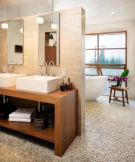 Wastafel Design Ideas For Bathroom With Stone Tiles Pertaining To Design Wastafel Ideas