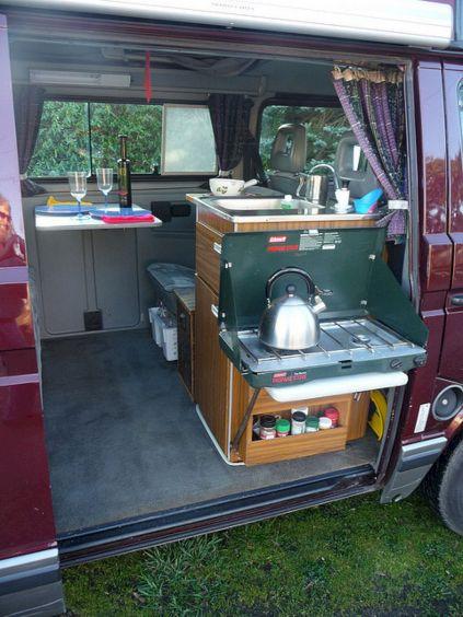 Interior Design Ideas For Camper Van No 09