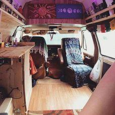 Interior Design Ideas For Camper Van No 44