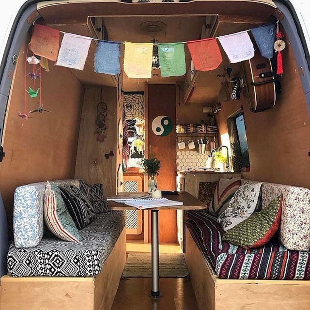 50 Indian Interior Design Ideas: Interior Design Ideas For Camper Van No 50 (Interior