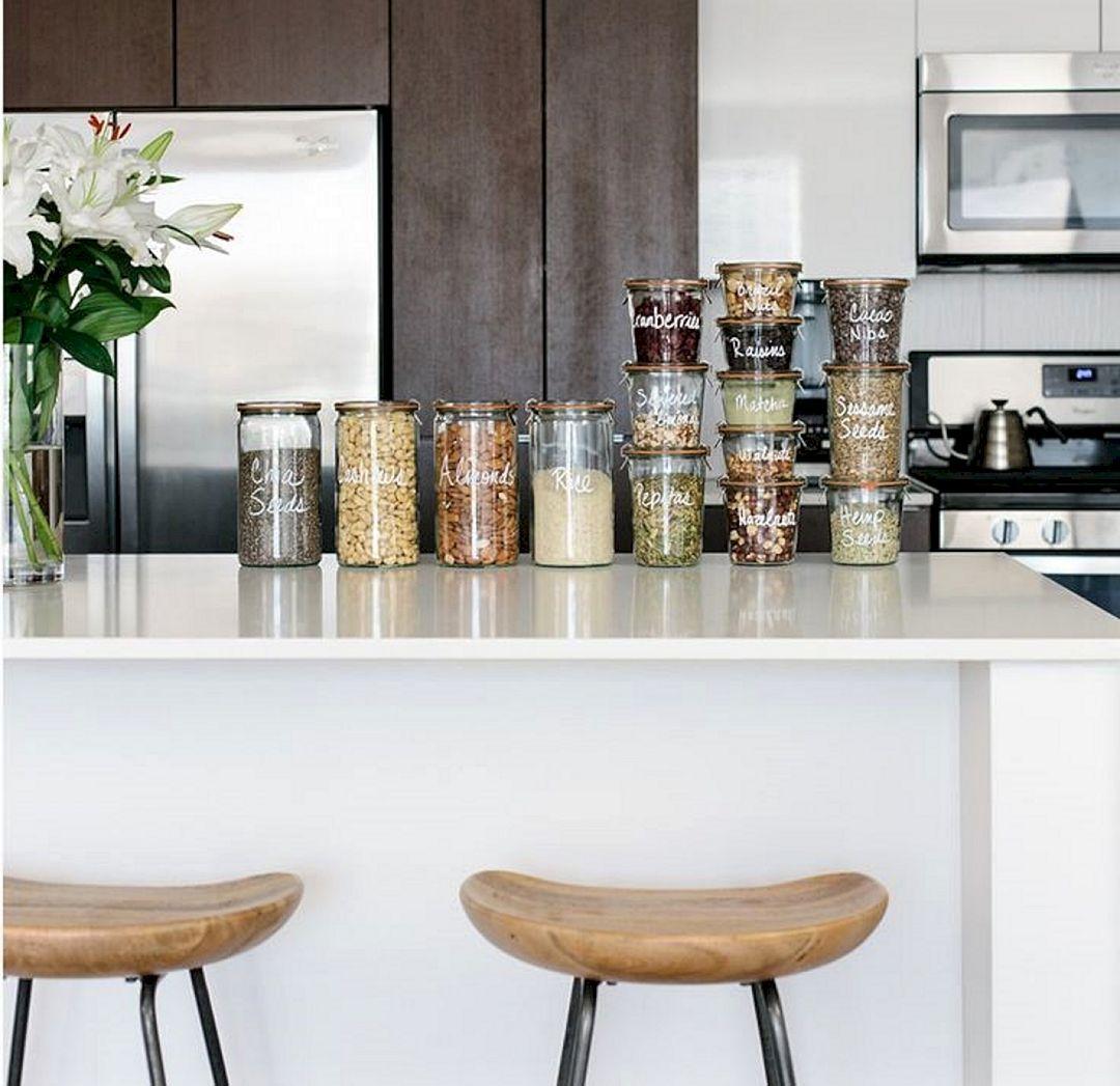 DIY Kitchen Storage Solutions Behind Door Cabinet Ideas ...