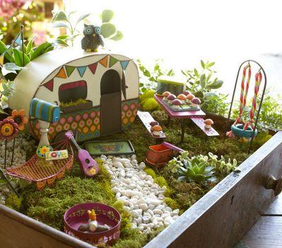 Unique Fairy Garden Ideas 40