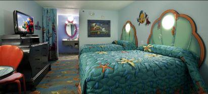 Animation Resort Little Mermaid Room