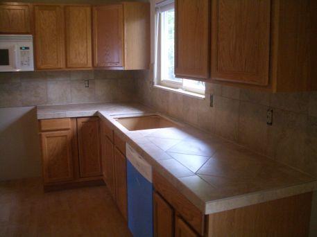 Ceramic Tile Kitchen Countertop Idea