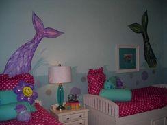 Girls Mermaid Room Ideas