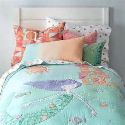 Little Girl Mermaid Bedding