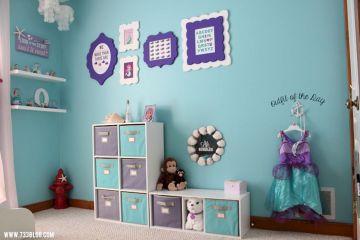 Little Girls Mermaid Room Decors