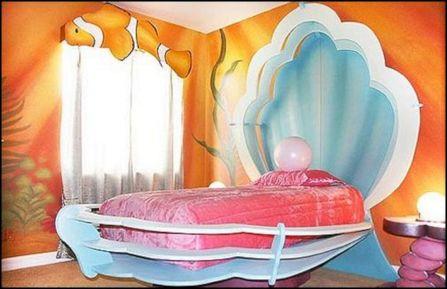 Little Mermaid Bedroom Theme