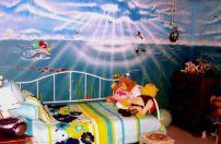 Little Mermaid Themed Bedroom