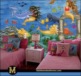 Mermaid Theme Bedrooms Decorating