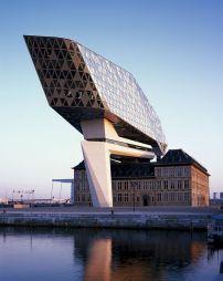 Architects Zaha Hadid Port House Antwerp