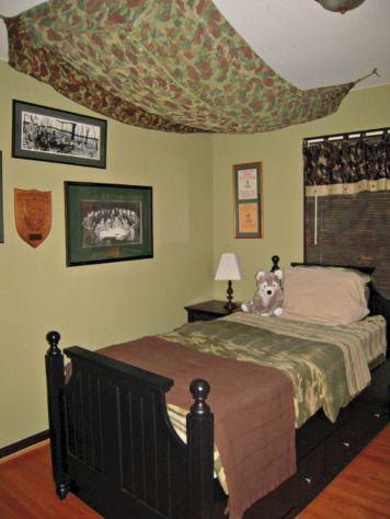 Army Camo Boys' Bedroom
