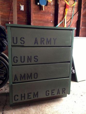 Army Theme Boys Room