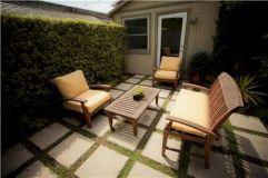 Back Yard Concrete Patio Ideas Small Yard