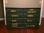 Boys Army Room Ideas